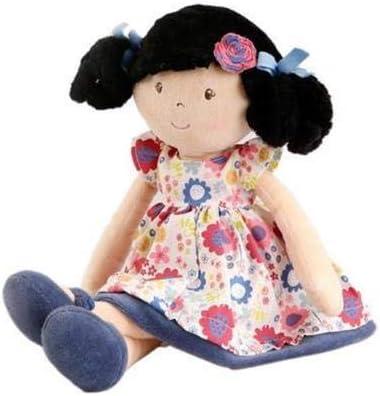 Bonikka Bambola di pezza Isabella 50cm Tradizionale bambini giocattolo morbido fatto a mano etici NUOVO