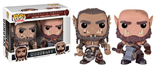 Funko - Figurine World of Warcraft Movie - 2 Pack Durotan & Ogrim Exclu Pop 10cm - 0849803093