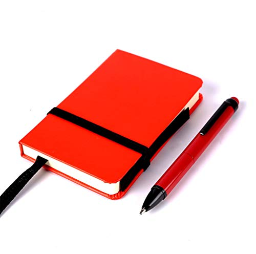 Small Pocket Notebook/Notepad Mini Memo Book with Pen 2.5×4 inch Gift Note Pads 80 Sheets Blank Pages