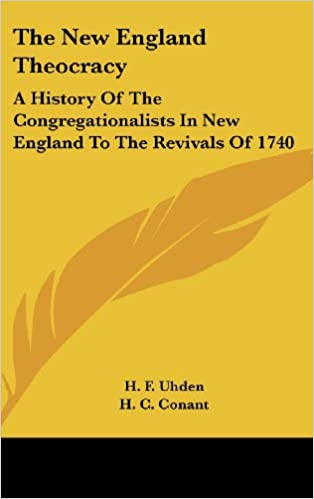 ¿Es posible descargar libros de google?The New England Theocracy: A History Of The Congregationalists In New England To The Revivals Of 1740 (Spanish Edition) CHM 0548209316