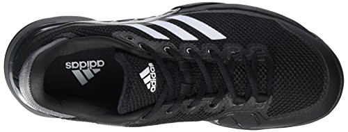 adidas Barricade 2017 Clay, Scarpe da Tennis Uomo Nero (Core Black/Night Metallic/Footwear White)