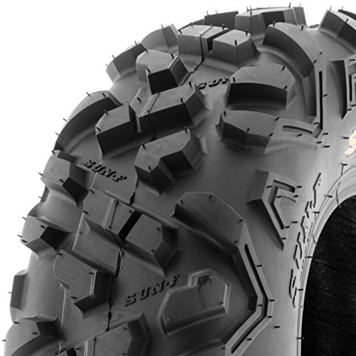 SunF Power.II 145/70-6 (14x6-6) AT all-terrain ATV Go-Kart Off Road Tire, 6 PR, Tubeless A051