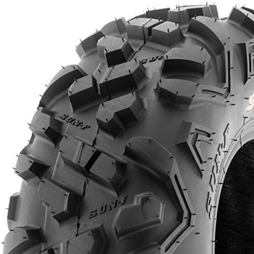 SunF ATV UTV 19x7-8 All Terrain 6 PR Tubeless Trail Tire A051 POWER II, [Single]