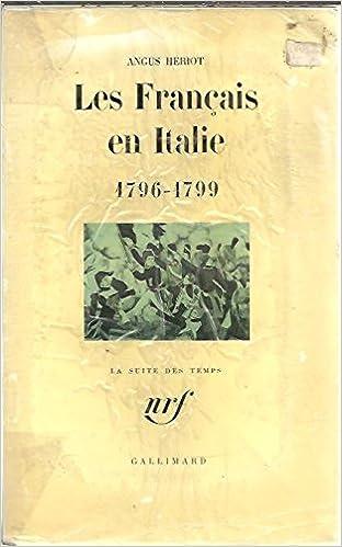 En ligne téléchargement gratuit Les français en Italie (1796-1799) pdf ebook
