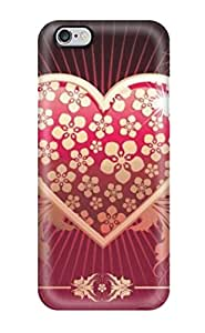 Garrison Kurland's Shop 5665515K19696220 New Beautiful Love Heart Tpu Cover Case For Iphone 6 Plus