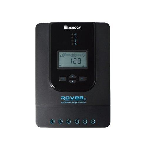 Renogy Rover 40 Amp 12V/24V DC Input MPPT Solar Charge Controller