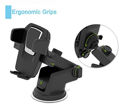 Car Phone Mount,Horsky Car Mount iphone Holder One Touch Cra