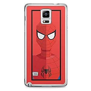 Spider Man Samsung Note 4 Transparent Edge Case - Street Fighter Polygonal Collection