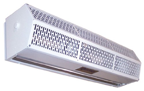 Berner - SLC07-1048AC-G - Low Profile Air Curtain, 4 ft. Max. Door Width, 7 ft. Max. Mount Ht., 54 dBA @ 10 Feet, 3300 fpm by Berner