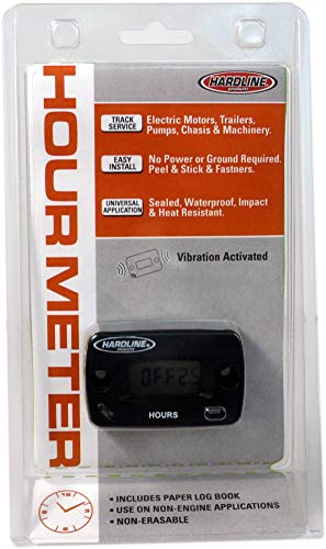 Hardline Products HR-8065 Vibration Hour Meter