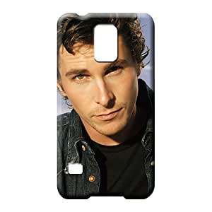 samsung galaxy s5 Impact Eco-friendly Packaging Protective Stylish Cases mobile phone carrying shells christian bale celebrities