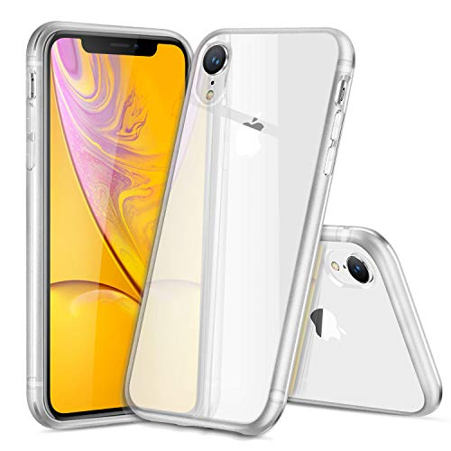 DUX DUCIS Case for iPhone XR, Premium Frosted Edge Transparent Protection Cover for Apple iPhone XR 2018 (Clear)