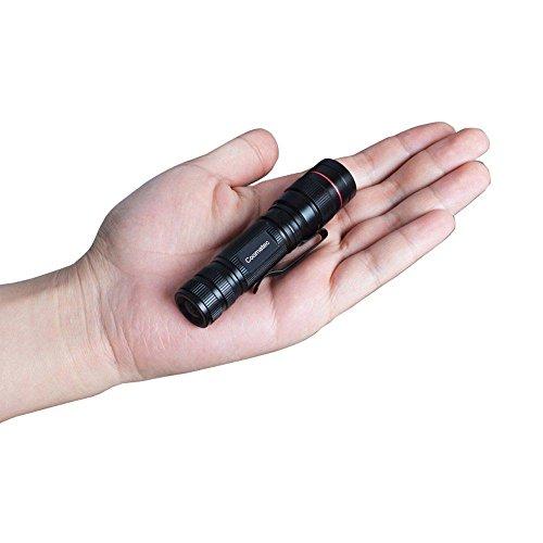 Coomatec SD-200 Ultra starken 450 Lumen LED Taschenlampe Taschenlampe schafft Zoom Flashlight