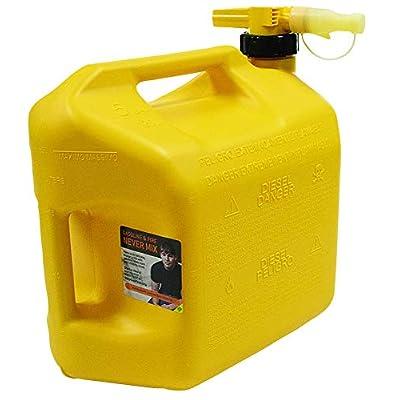 No-Spill 1457 Diesel Fuel Can, Yellow: Garden & Outdoor