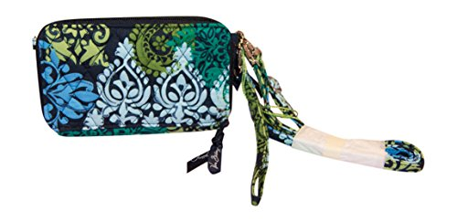 Vera Bradley All In One Crossbody for iPhone 6/6+ Wristlet, Caribbean Sea