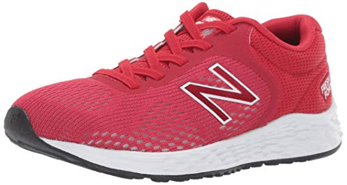 New Balance Boys' Arishi V2 Running Shoe, Team red/White, 5 M US Toddler