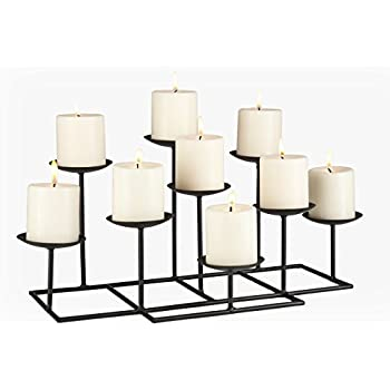 Buy 9 Candle Candelabra: Candelabras - Amazon.com ? FREE DELIVERY possible on eligible purchases