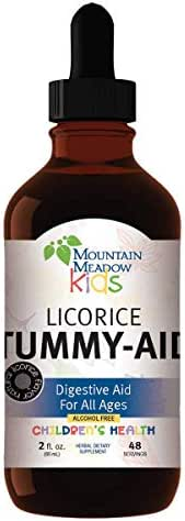 Licorice Tummy Aid - 2oz - Digestive Aid for All Ages