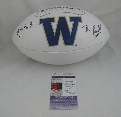 Bob Sapp Autographed Signed Memorabilia Washington Huskies Logo Football With The Beast - JSA Authentic