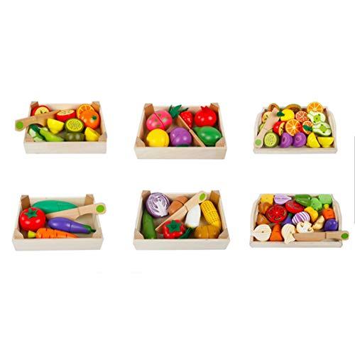 WEIHAN Cubiertos magnéticos para niños Juguetes de Cocina ...