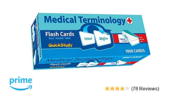 picture regarding Printable Medical Terminology Flash Cards identify Healthcare Terminology Flash Playing cards (Educational): Inc. BarCharts