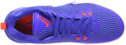 Nike Herren Zoom Live-ii Basketballschuhe Blau (racer Blauw / Wit-licht Racer Blauw-totaal Crimson 400)
