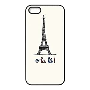 eiffel tower cartoon personalized high quality cell phone case for Iphone 6 plus 5.5