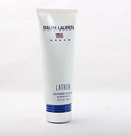 Ralph Lauren Polo Sport Woman foaming Gel de Ducha 200 ml: Amazon ...