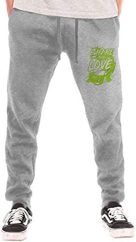 Sharer The Love Men Sweatpants Pant Outdoor Running Workout Sports Tights Pants適切なジョギング