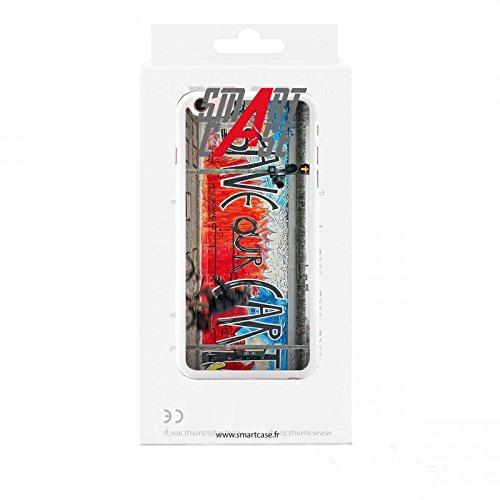 Coque + Verre Trempé pour iPhone 6/6S SmartCase® STREET ART 1