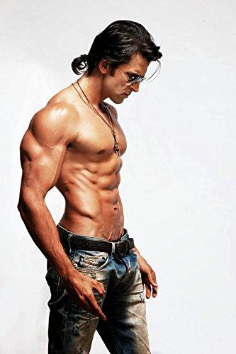 Bollywood Star Hrithik Roshan Hd Wallpaper On Fine Art Paper Amazon