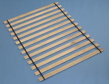 Frames and Rails Roll Slat Queen - Wood Slat Roll