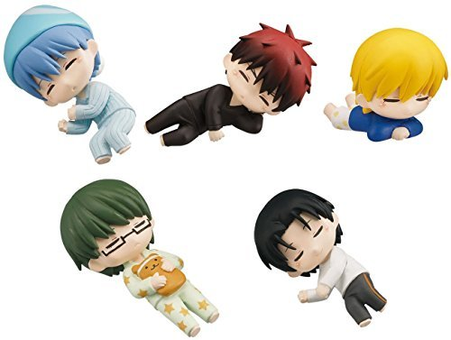 Gashapon The Basketball Which Kuroko Plays Sleeping Kuroko Set by Gashapon