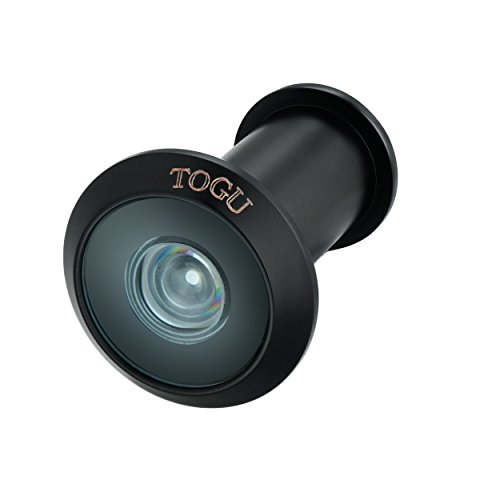 TOGU TG2614NG-SC Brass UL Listed 220-degree Door Viewer for 1-3/8