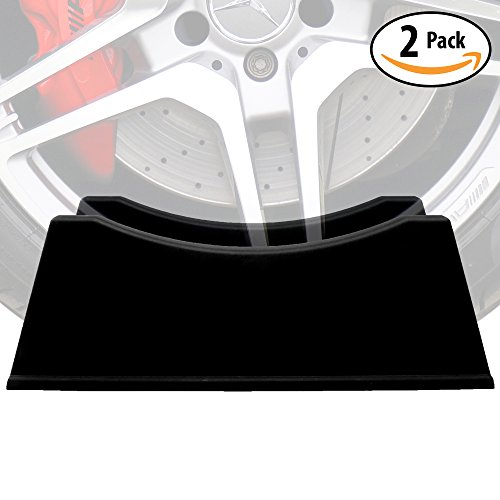 Adjustable Tire Display Stand 2 Pack Makes a Great Car Enthusiast Gift Idea for Men or Practical Garage Decor. These Auto Shop Accessories Universally Fit Rims & Wheels 6 to 12 Wide. No Tools Needed! (Trick Rims)