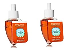 Sparkling Amber Wallflowers - 2 Refill bulbs - Bath & Body Works Discontinued Scent!