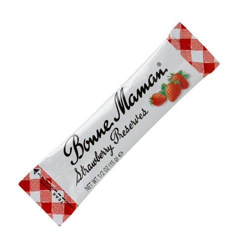 Bonne Maman Strawberry Preserves (Bonne Maman Strawberry Preserve Packets - 0.5 Ounce x 100)