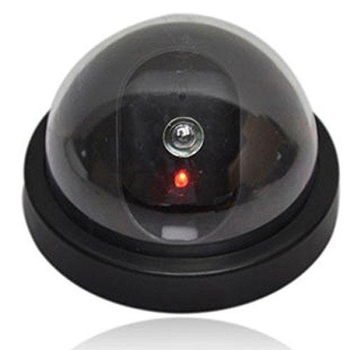 Dome Outdoor Camera Housing - Emulational Fake Decoy Dummy Dome Camera With Bliking LED IR Fake CCTV Camera Outdoor Waterproof Emulational Camera
