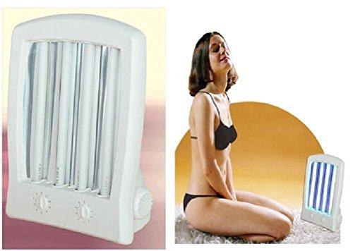 Good Ideas Deluxe Sun Lamp Face Tanner Tropical Tanning Sun Lamp ...
