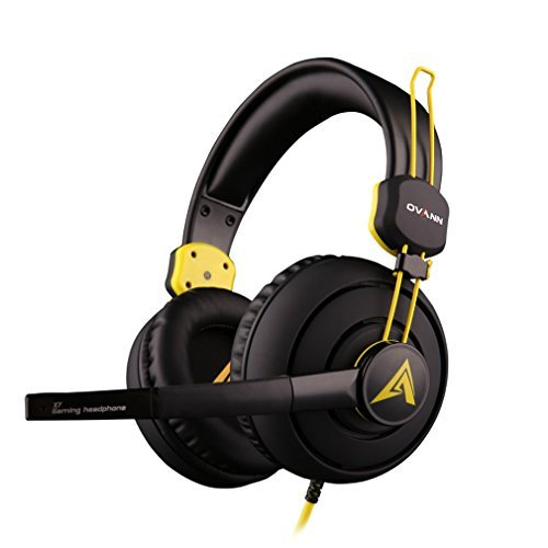 Sound Intone X7 2015 New Professional 3.5mm Pc Gaming Stereo Headset Noise Canelling Headphones with Volume Control Microphone for Online Gaming, Pc Computer Game ,Desktop Pcs, Laptops