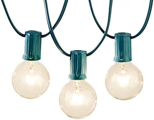 AmazonBasics Patio Lights, Green, 50' ()