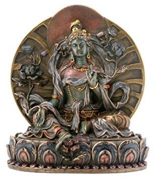 - Small Green Tara Collectible Buddha Figurine