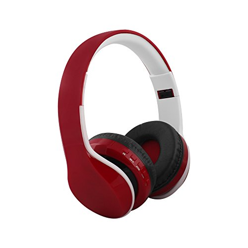 0568af42e53 FX-Victoria Wireless Bluetooth Headphones Over-ear Stereo Headphones  Foldable Adjustable Durable Headsets with FM Radio Function for Cellphones  Smartphones ...