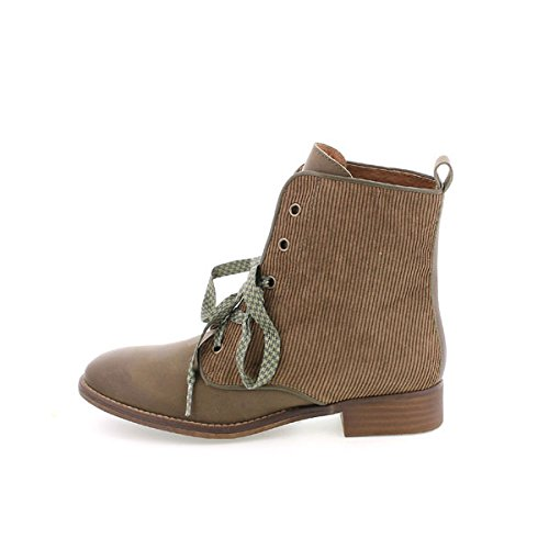 Bottes Kaky MTNG Sprint Femme Kaky Ethnicboots Brown Pana A55Spgqn