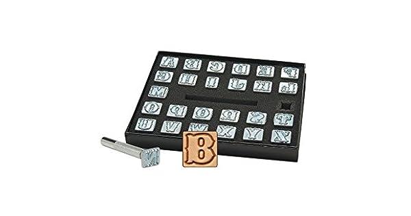 """13 MM Número Set-Craftool 1 2/"""" estándar de cuero Sello Relieve herramienta 8136-00"""