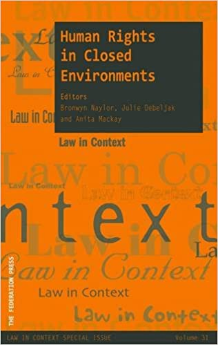 cc25289555ed9 Human Rights in Closed Environments  Amazon.co.uk  Bronwyn Naylor ...