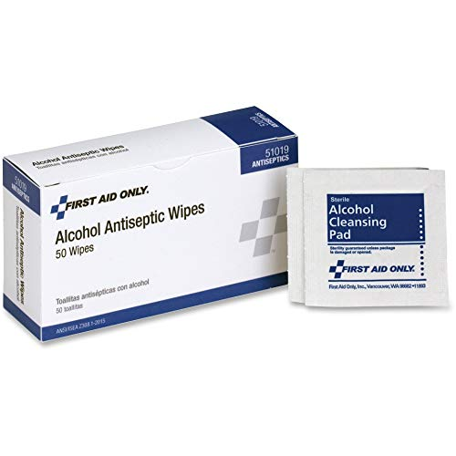 Acme United Corporation Medicine - PhysiciansCare 51019 Alcohol Prep Pads, Single Use Packets, 50 Packets/BX