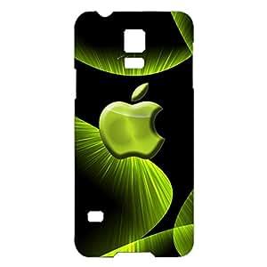 3D Apple Logo Phone Case Personalized Design Hard Plastic Phone Case for Samsung Galaxy S5 Mini Luxury Logo