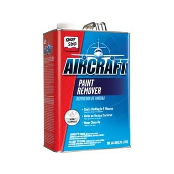 gar343 klean strip aircraft paint stripper 1 gallon