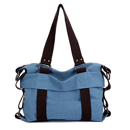 [HIFISH HB104070C1 Canvas Korean Style Women's Handbag,Square Cross-Section Soft Surface] (Costumes Express Promo)